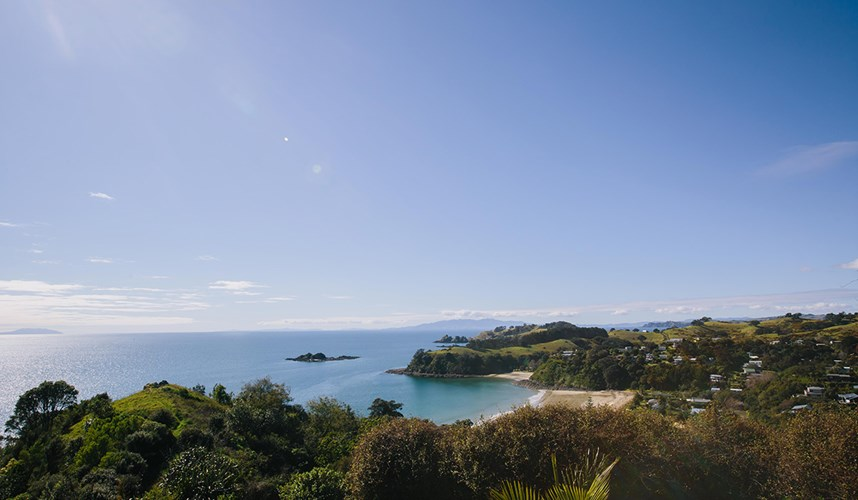 Waiheke Island and Coast Line