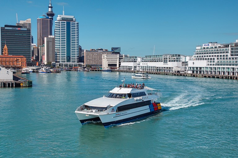 Auckland Harbour Cruise  Fullers  360 Discovery Cruises