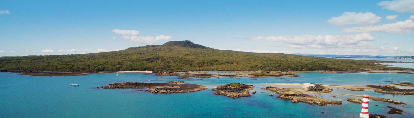 Rangitoto Island – Volcano summit walking track & tours
