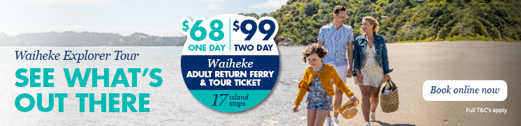 Rangitoto Island deal