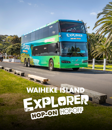 Waiheke Island Explorer Hop-on Hop-off for wine tour