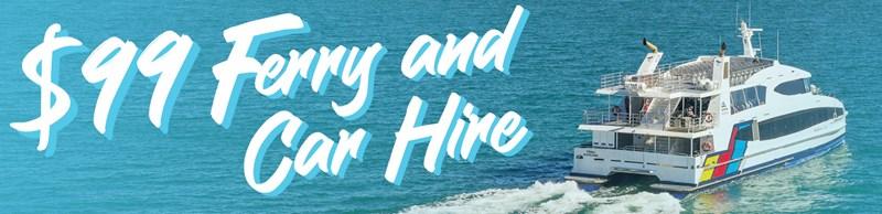 Image Waiheke Island ferry and car hire