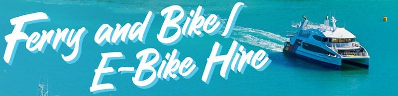 Image Bike and ferry Waiheke Island - Fullers360